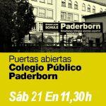 Jornadas Puertas Abiertas 21 Enero y 1 Febrero 2017-Preinscripcion PAL-Alemán