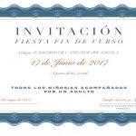Fin de Curso – Fiesta de convivencia Comunidad Educativa  17 de Junio