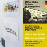 Jornadas Puertas Abiertas 27 de Enero y 31 de Enero 2018 – Proyecto PAL- Alemán-Castellano-Inglés