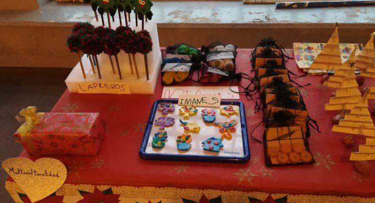 Celebramos con gran éxito el primer Weihnachtsmarkt-Mercadillo Solidario del colegio!