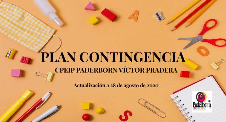Plan de contingencia: información para las familias